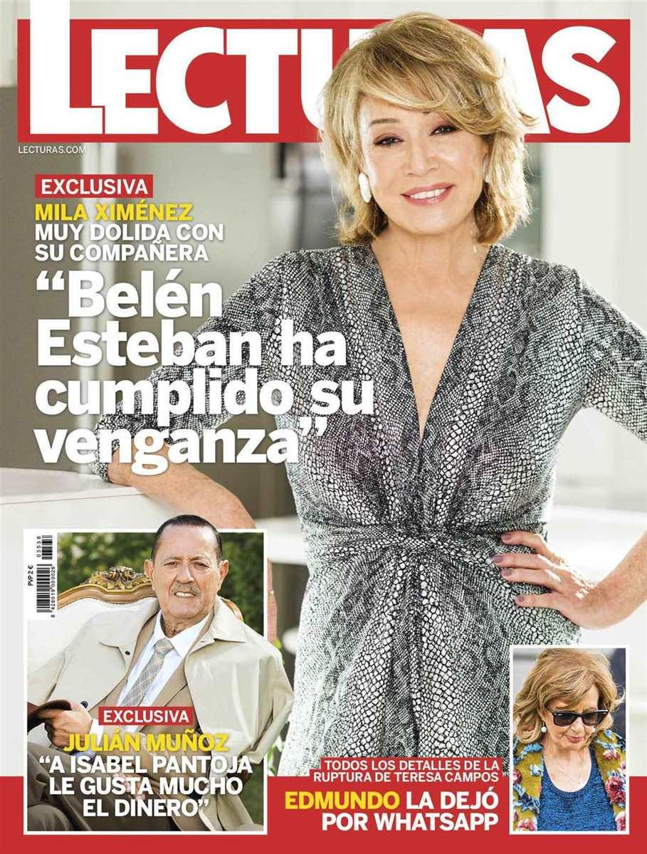 """Portada de la revista """"Lecturas"""" del 8 de enero"""