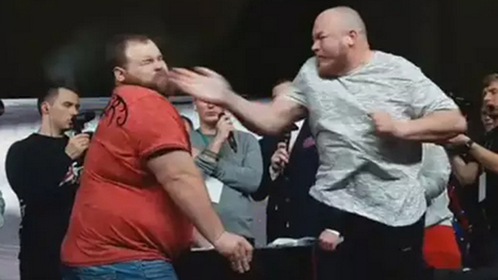 The slap left by KO to the viral slapping king
