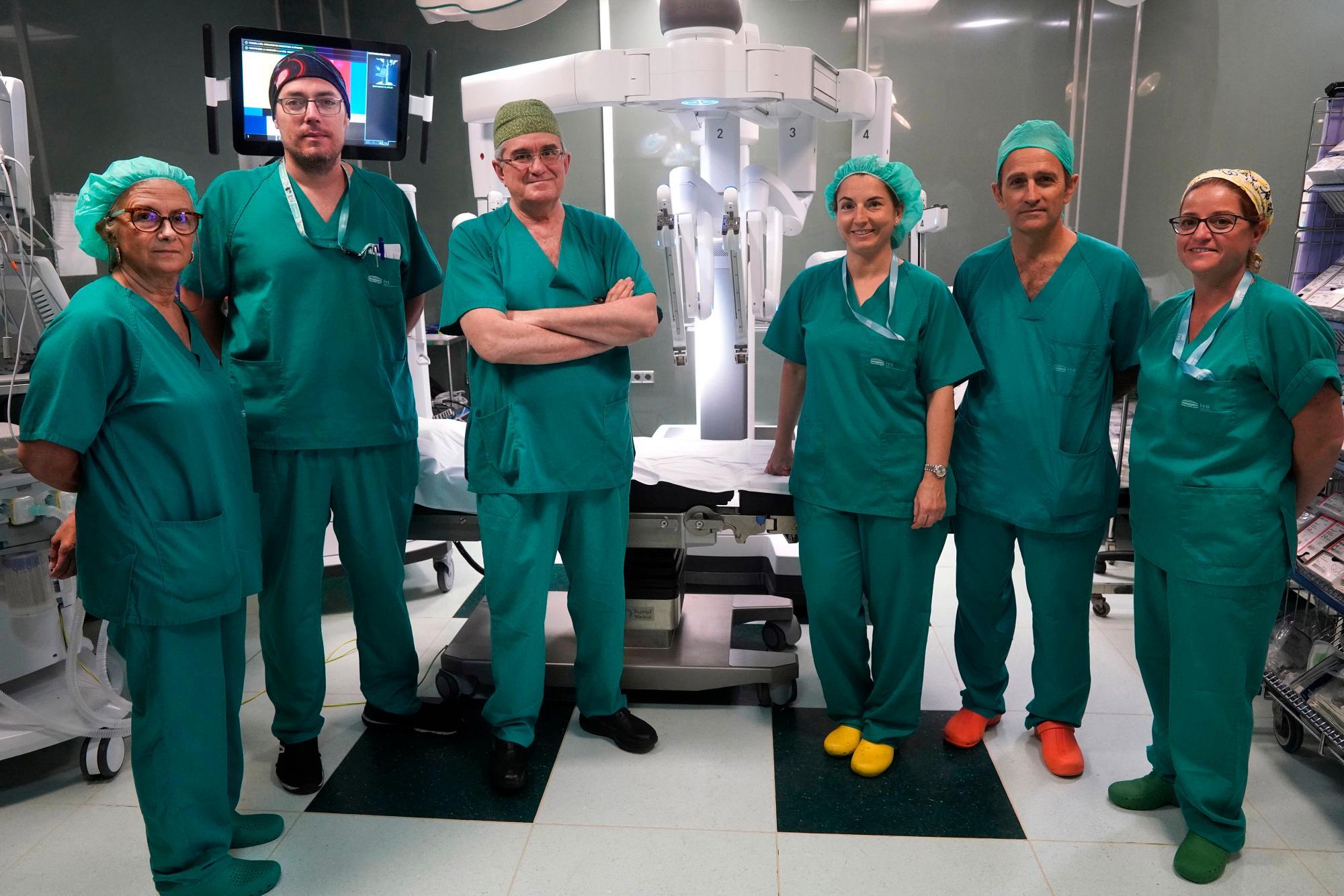 tiempo de cirugía de próstata da vinci