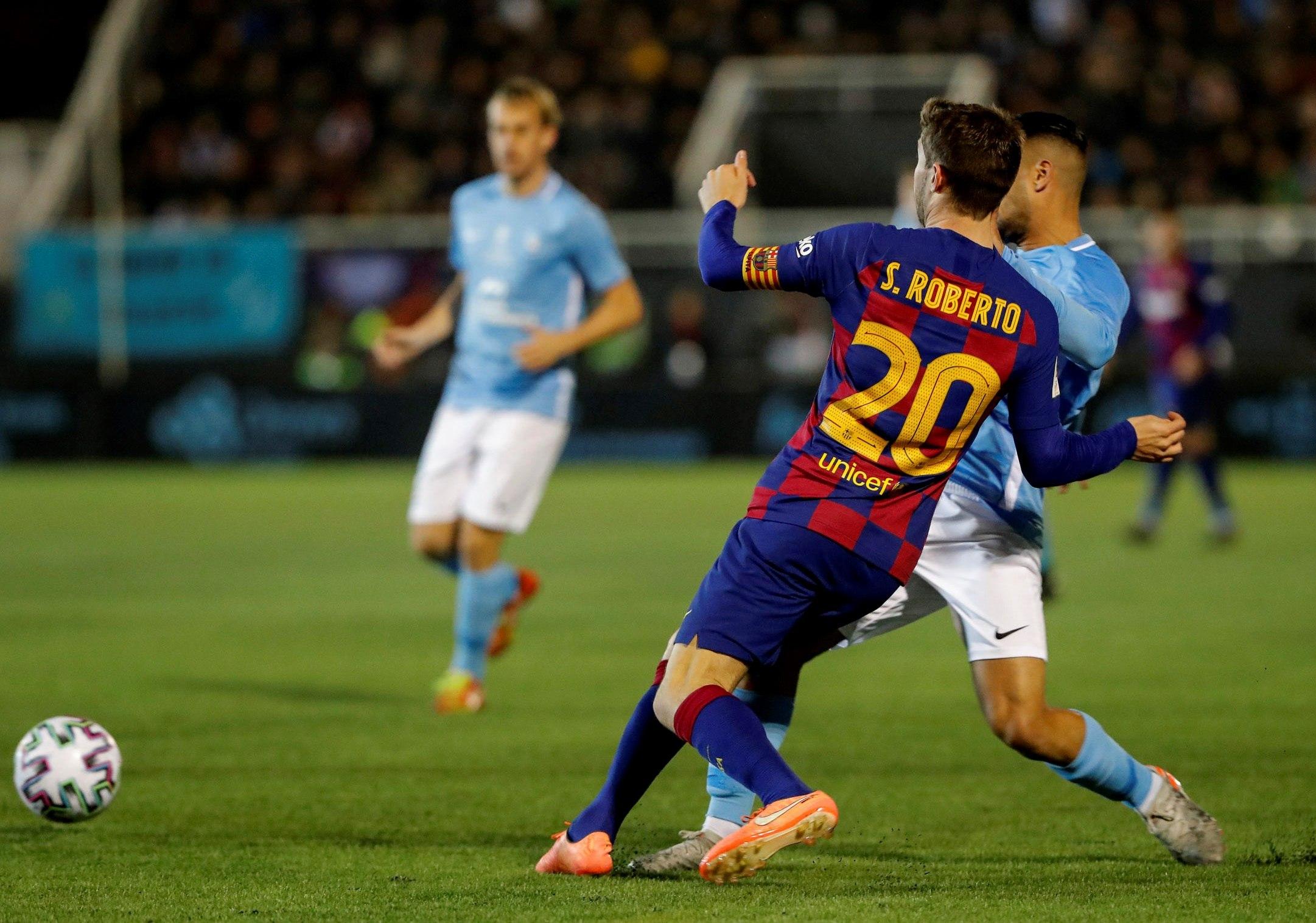 ¿Cuántos pases dio el Barcelona para rematar tres veces en el partido de Copa contra el Ibiza?