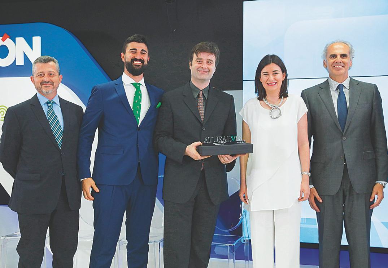 Juan Muñoz, Iván Lloro, Víctor A. Lloro, Carmen Montón y Enrique Ruiz Escudero  / Foto:  Jesús G. Feria