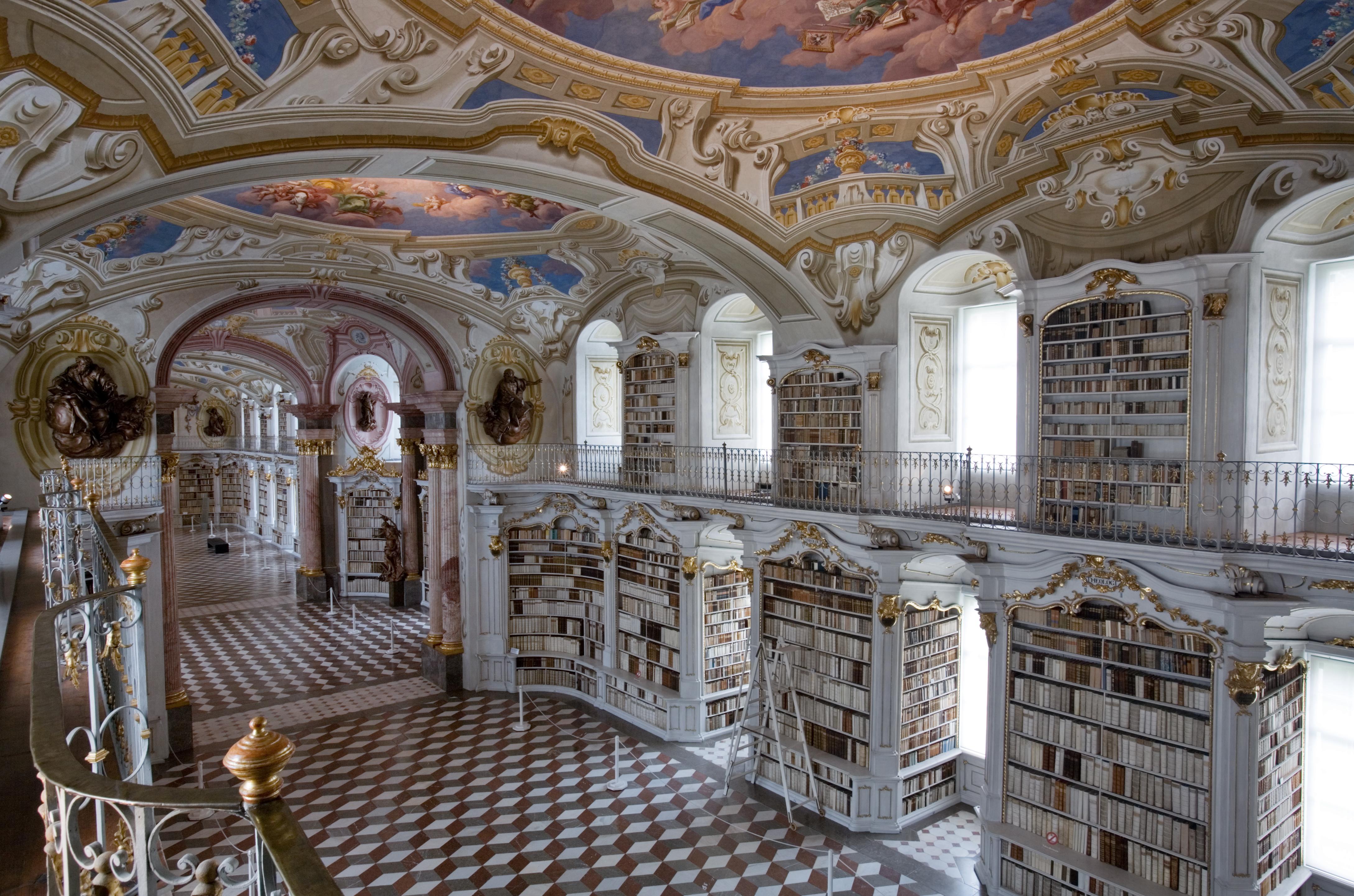Biblioteca de la abadía de Admont.