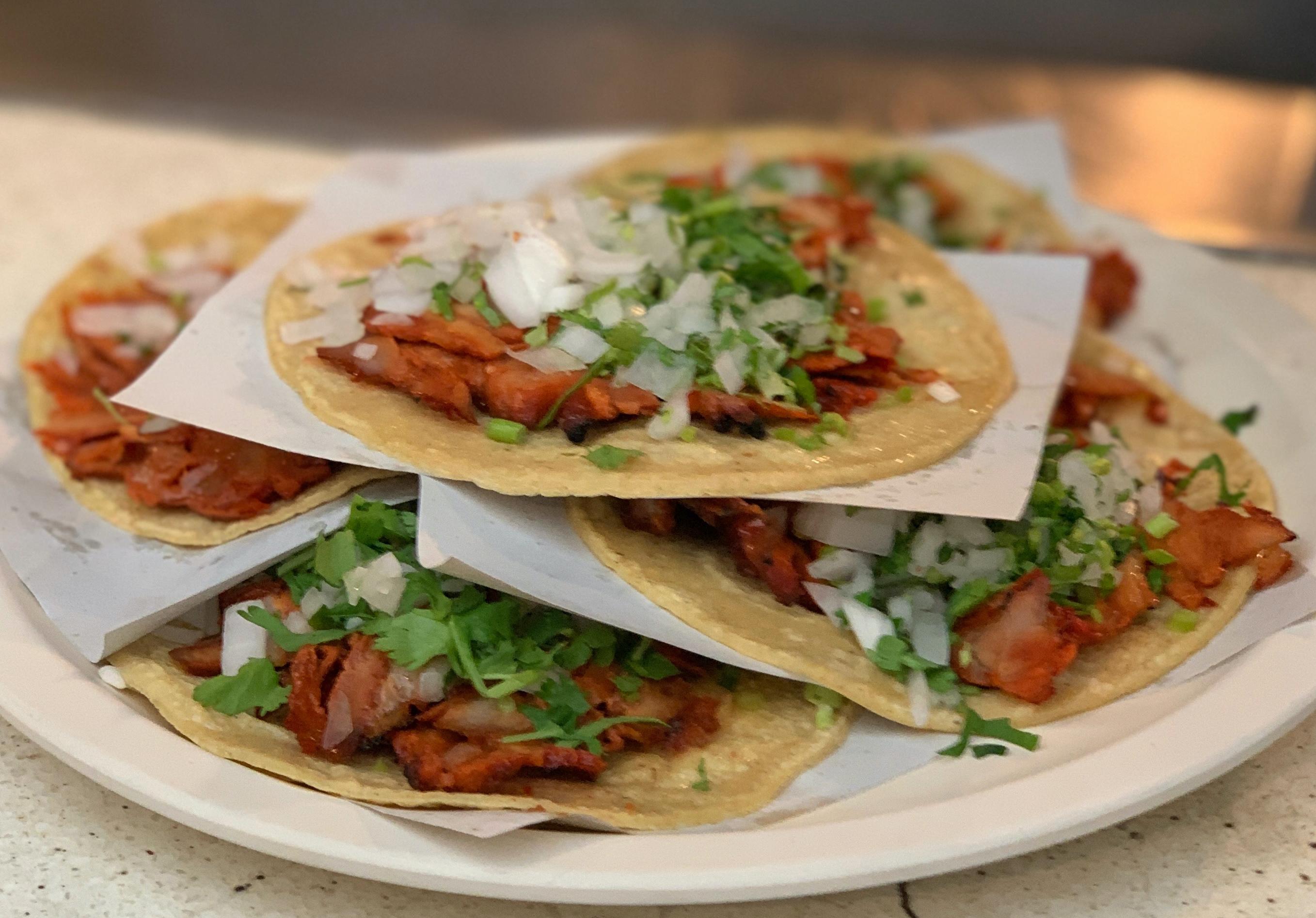 Tacos al pastor Imagen: Alfonso Romay