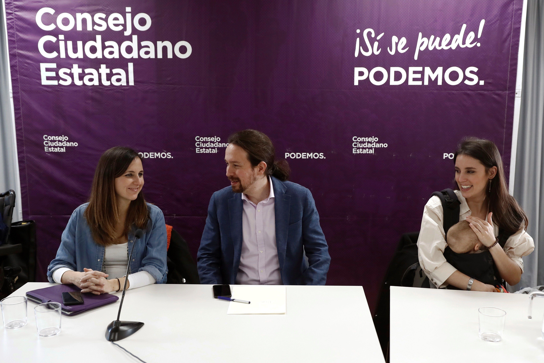 Pablo Iglesias quiere perpetuarse en Podemos e Irene Montero no tomará el relevo