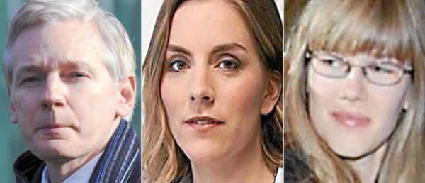 Assange criticó duramente el sistema de extradición europeo. Anna Ardin es periodista sueca y una militante feminista. Sofia Wilen lo acusa de abusar de ella mientras dormía