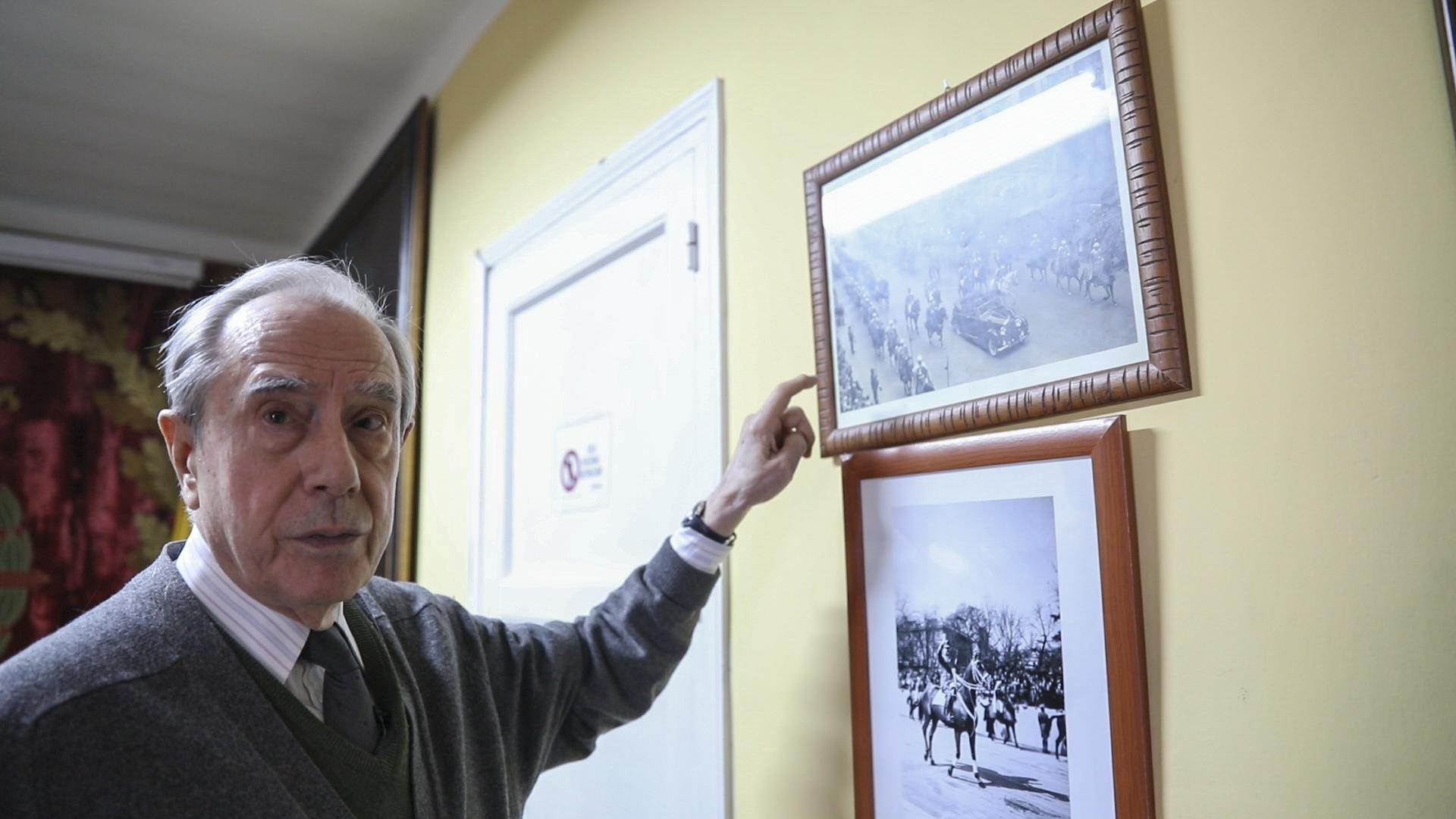 Emilio de Miguel, secretario del Patronato de la Fundación Franco