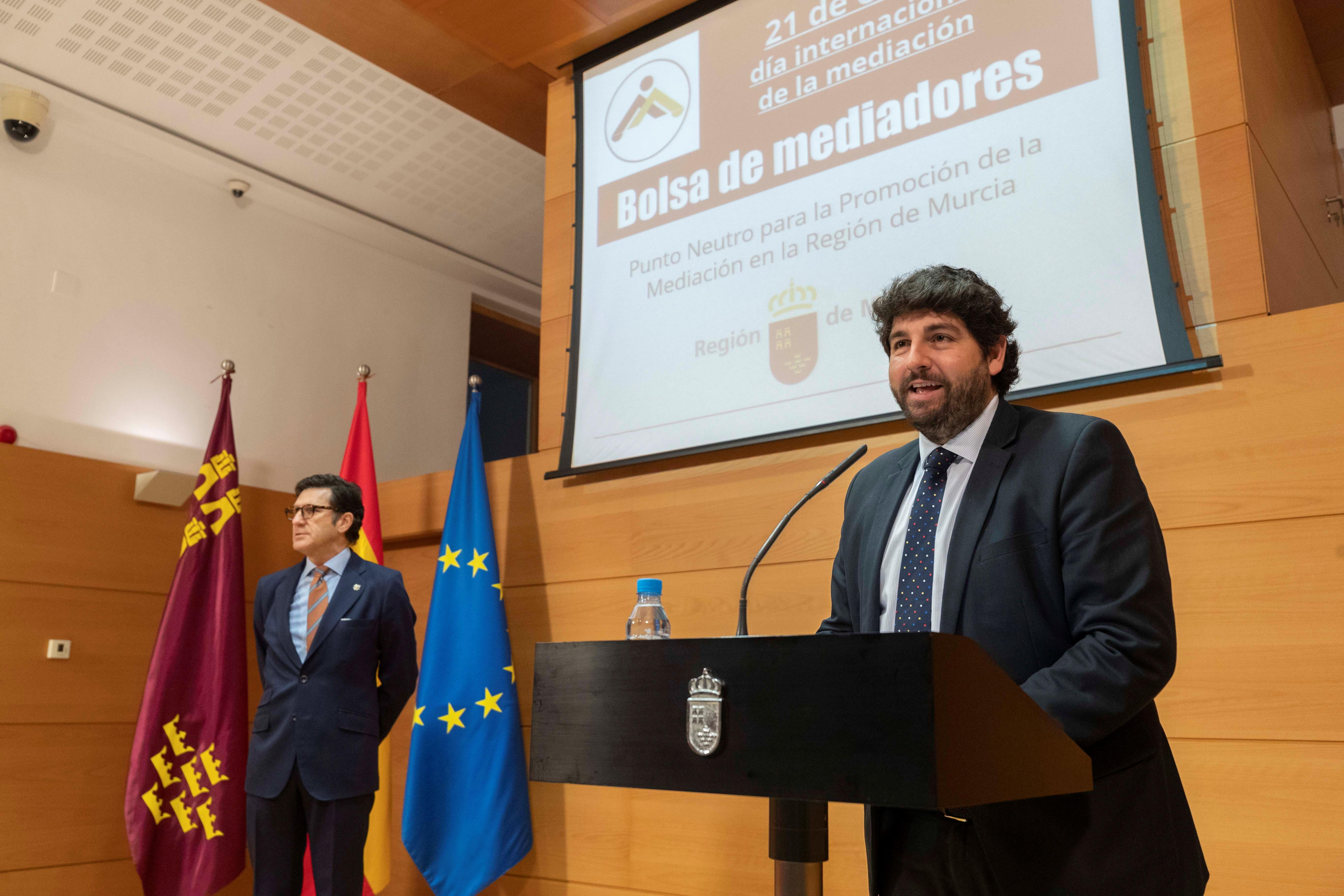 presentación de la bolsa de mediadores