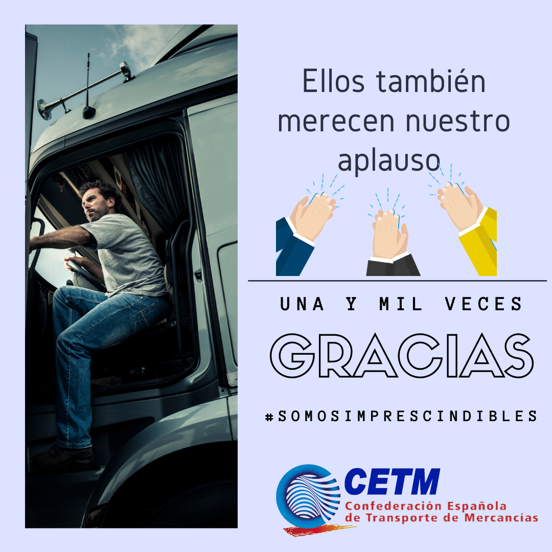 Campaña de CETM para dar las gracias a todos los camioneros