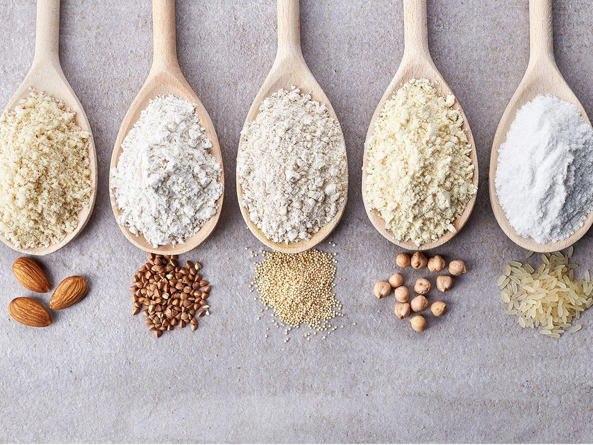 Harina de trigo, de almendra, de arroz, de garbanzo… ¿cuál es mejor?