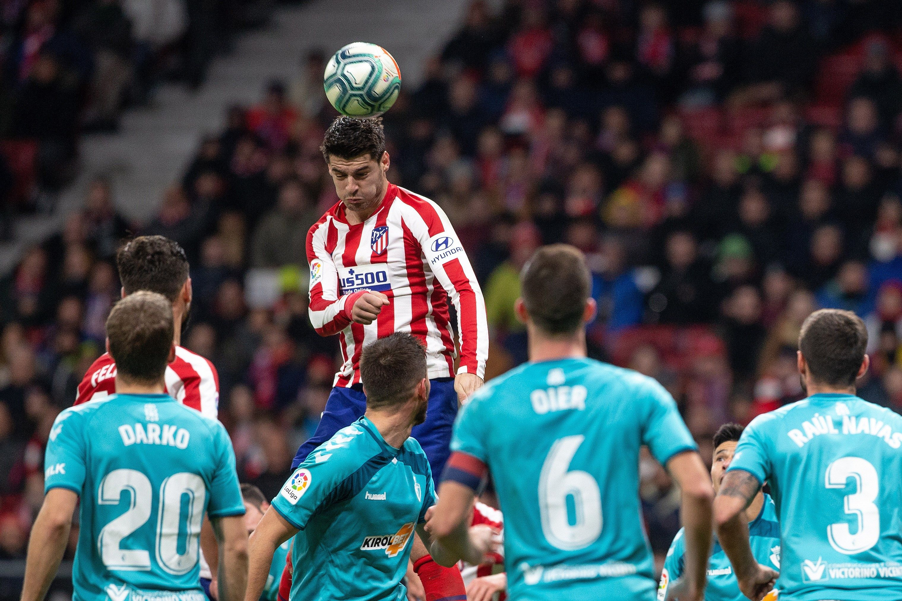 The message-rap of Morata in the networks after Atlético-Osasuna