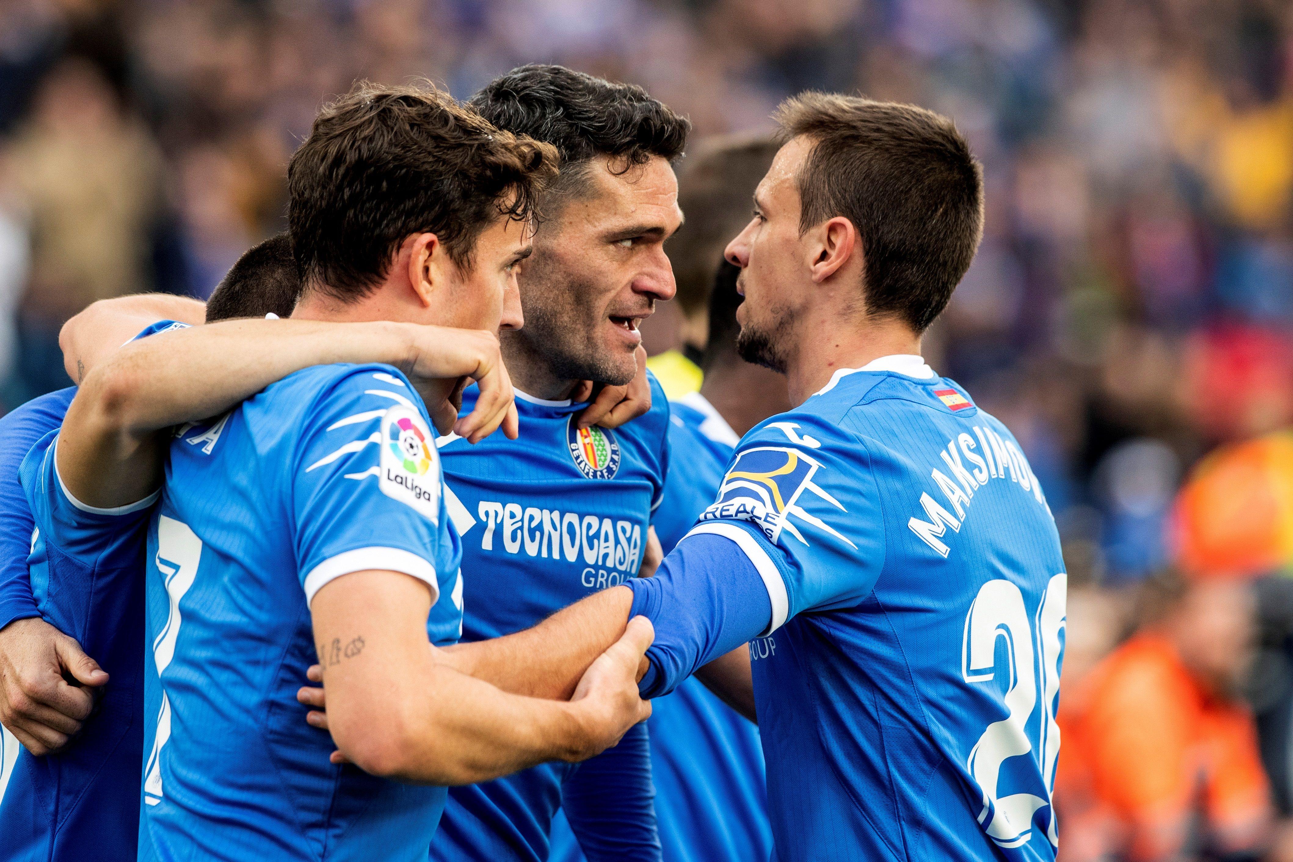 Jorge Molina lleva el Getafe a lo más alto