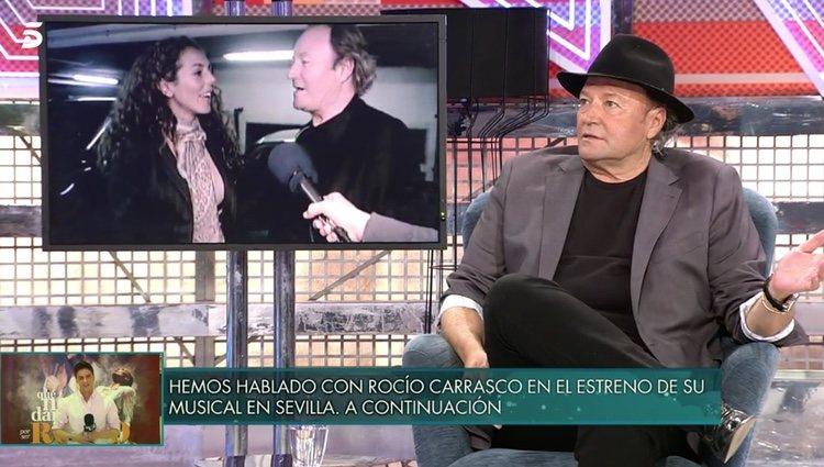 Amador Mohedano en el 'Deluxe'