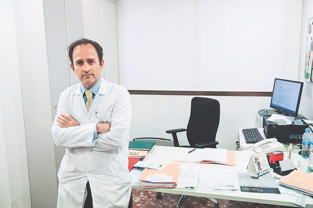braquiterapia para el cáncer de próstata 1999