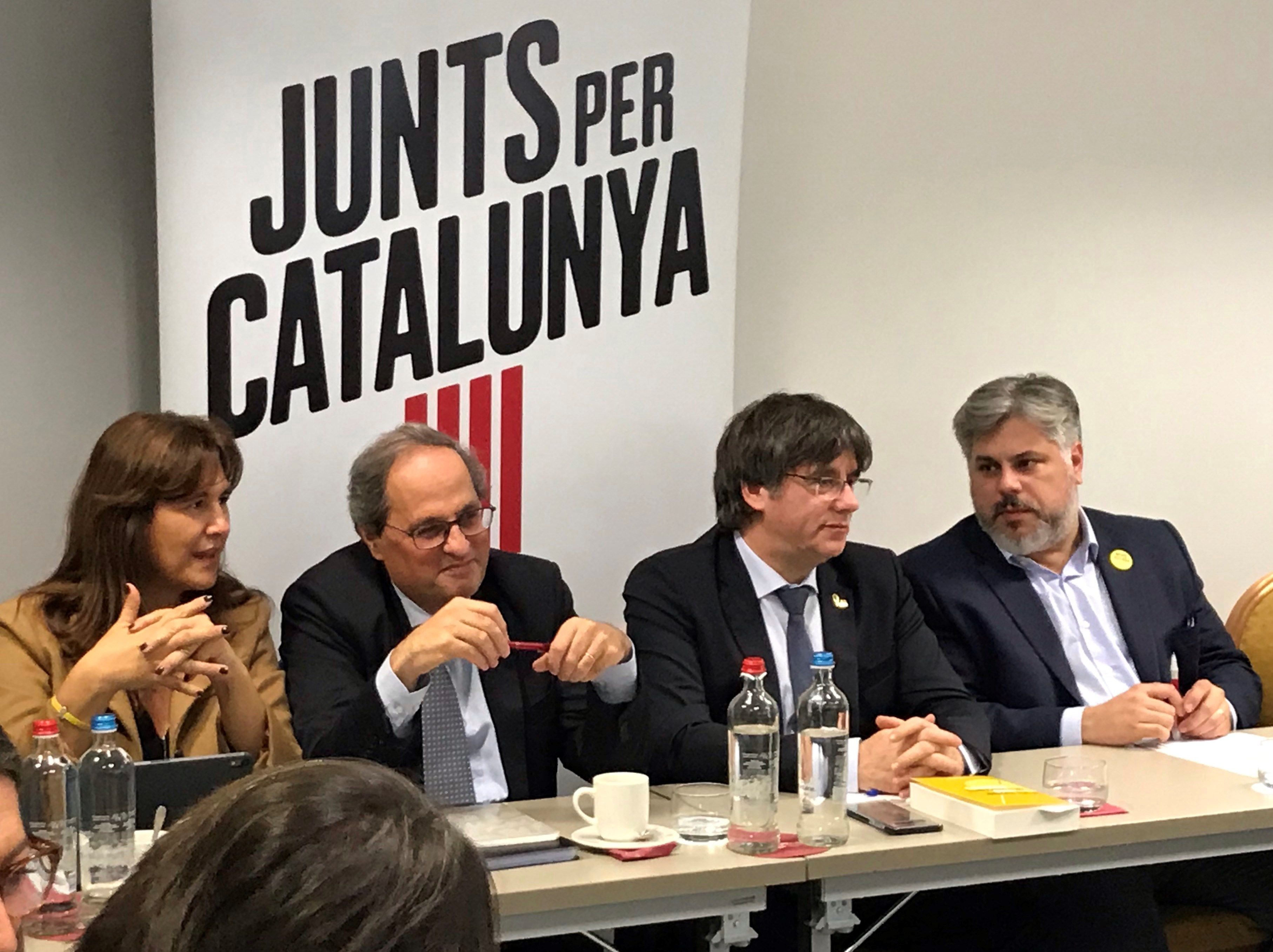 Semana clave para el independentismo: de la inmunidad de Puigdemont a la inhabilitación de Torra