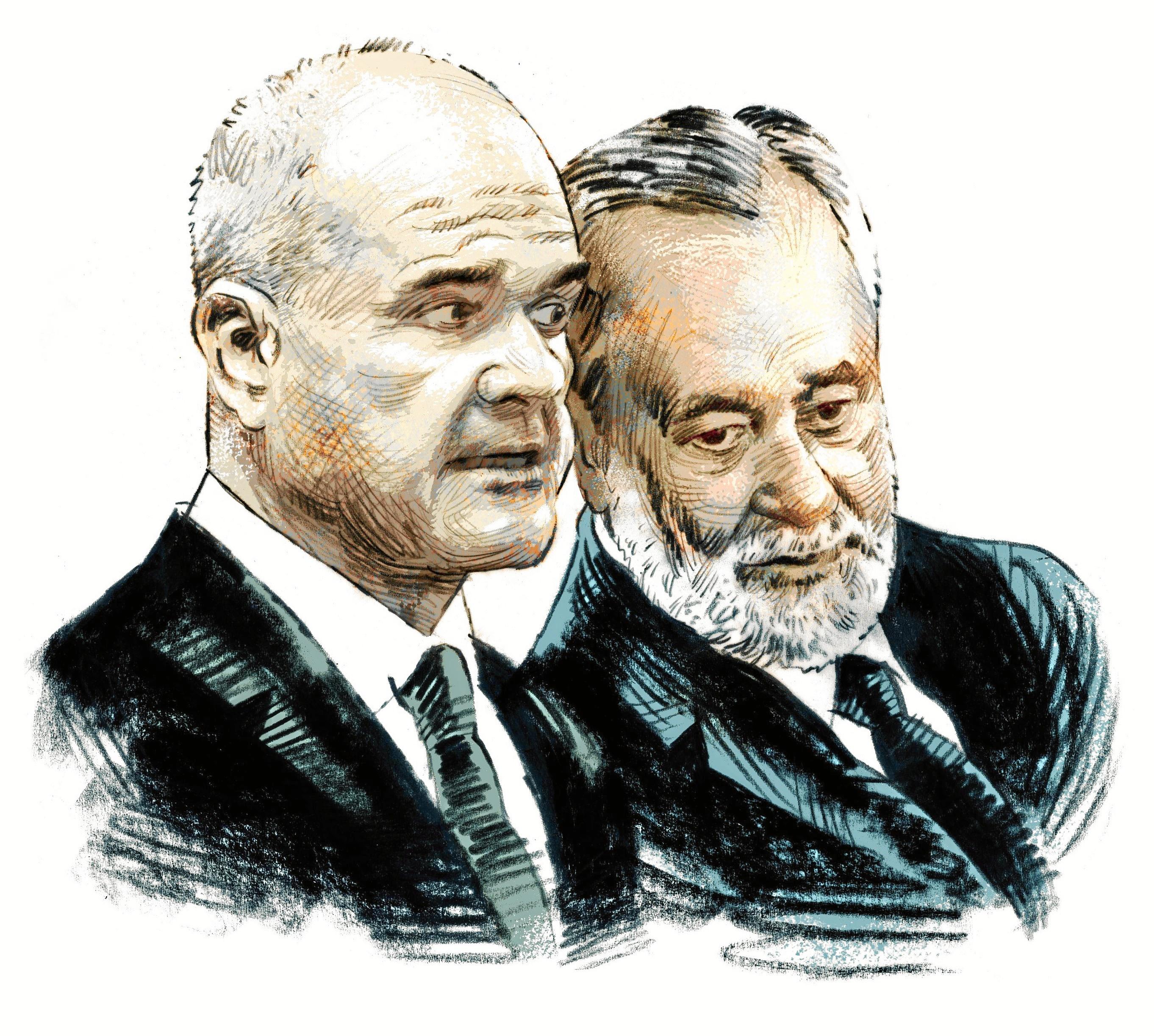 """Chaves y Griñán, hundidos: """"No tenemos un duro"""""""