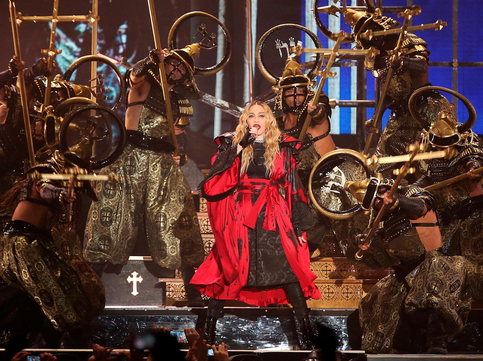 Madonna cancela uno de sus conciertos en Lisboa