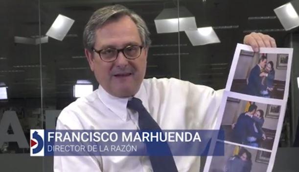 """La opinión de Francisco Marhuenda: """"El abrazo de la victoria... de Pablo Iglesias"""""""