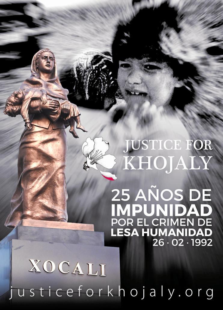Cartel conmemorativo del 25 aniversario de la matanza de Jodyalí