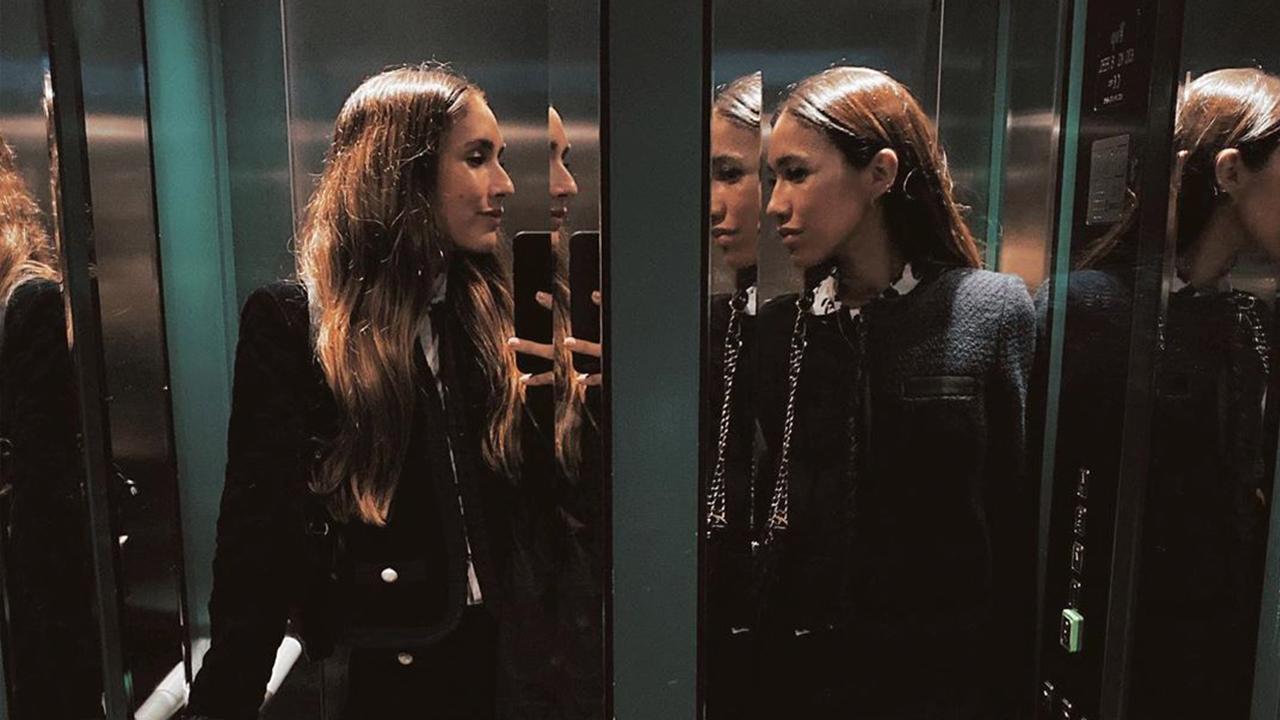 Las hermanas Villareal saben cuál es el look de invierno que más estiliza