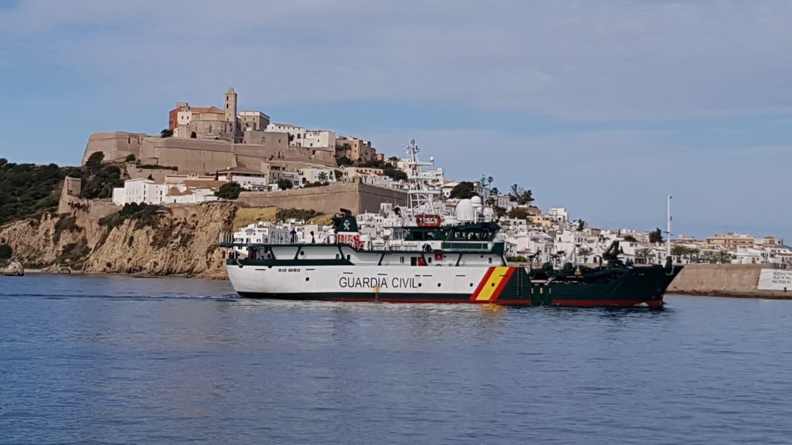 El barco Río Miño de la Guardia Civil, en una imagen de archivo / EP