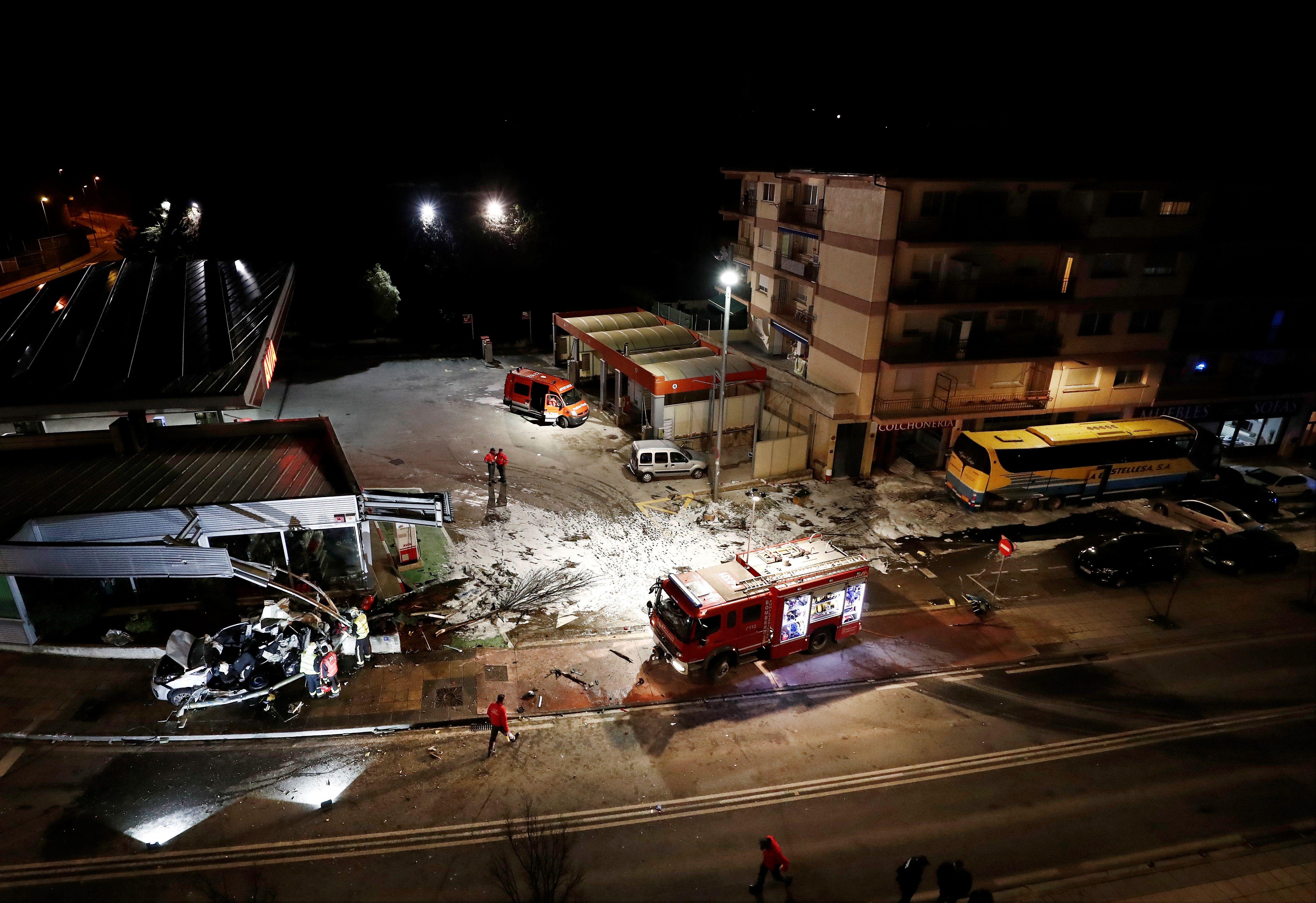 Mueren dos hermanos de 5 y 8 años tras ser arrollados por un autobús en Estella
