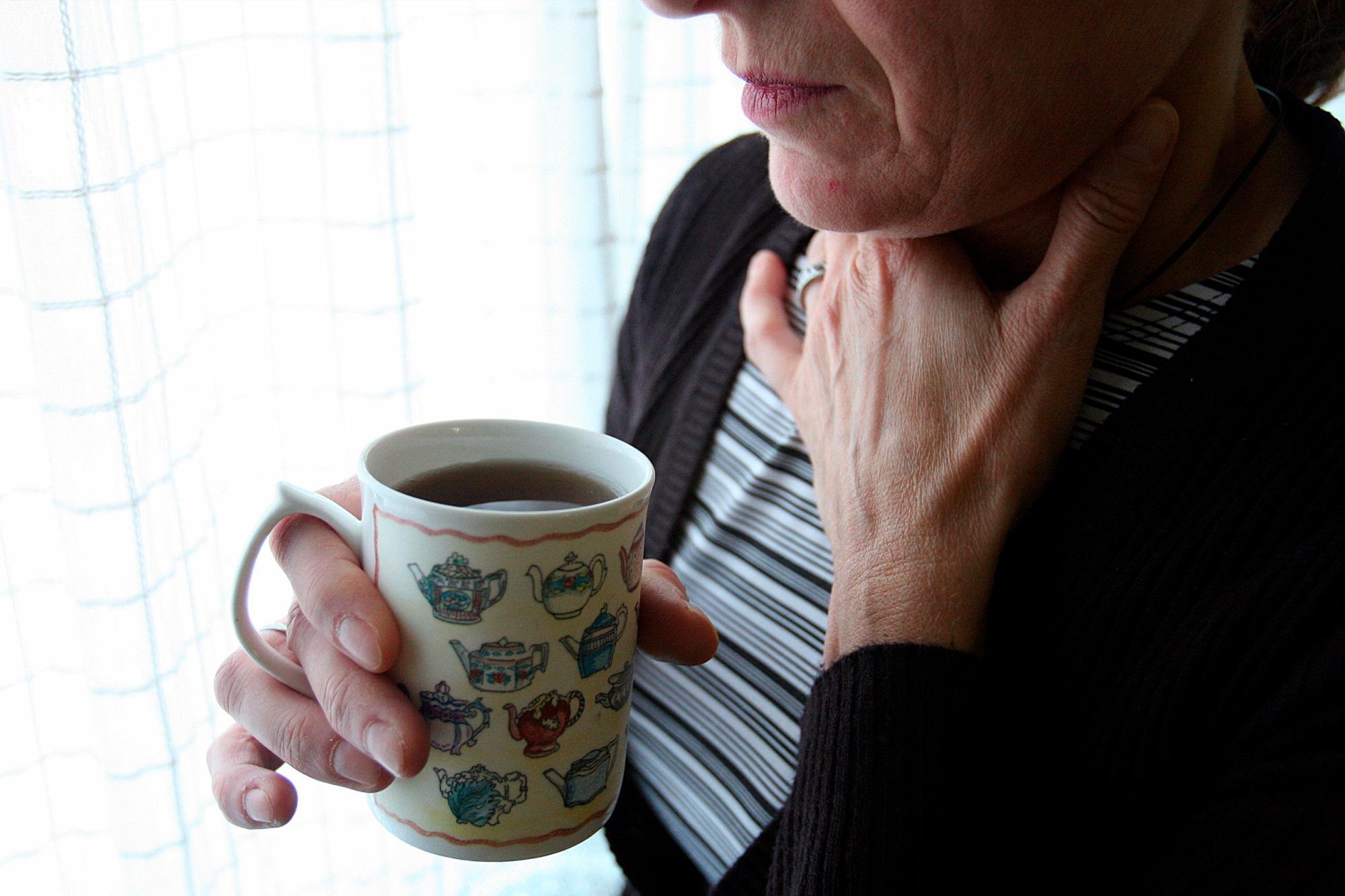 Sintomas de cancer garganta y cuello