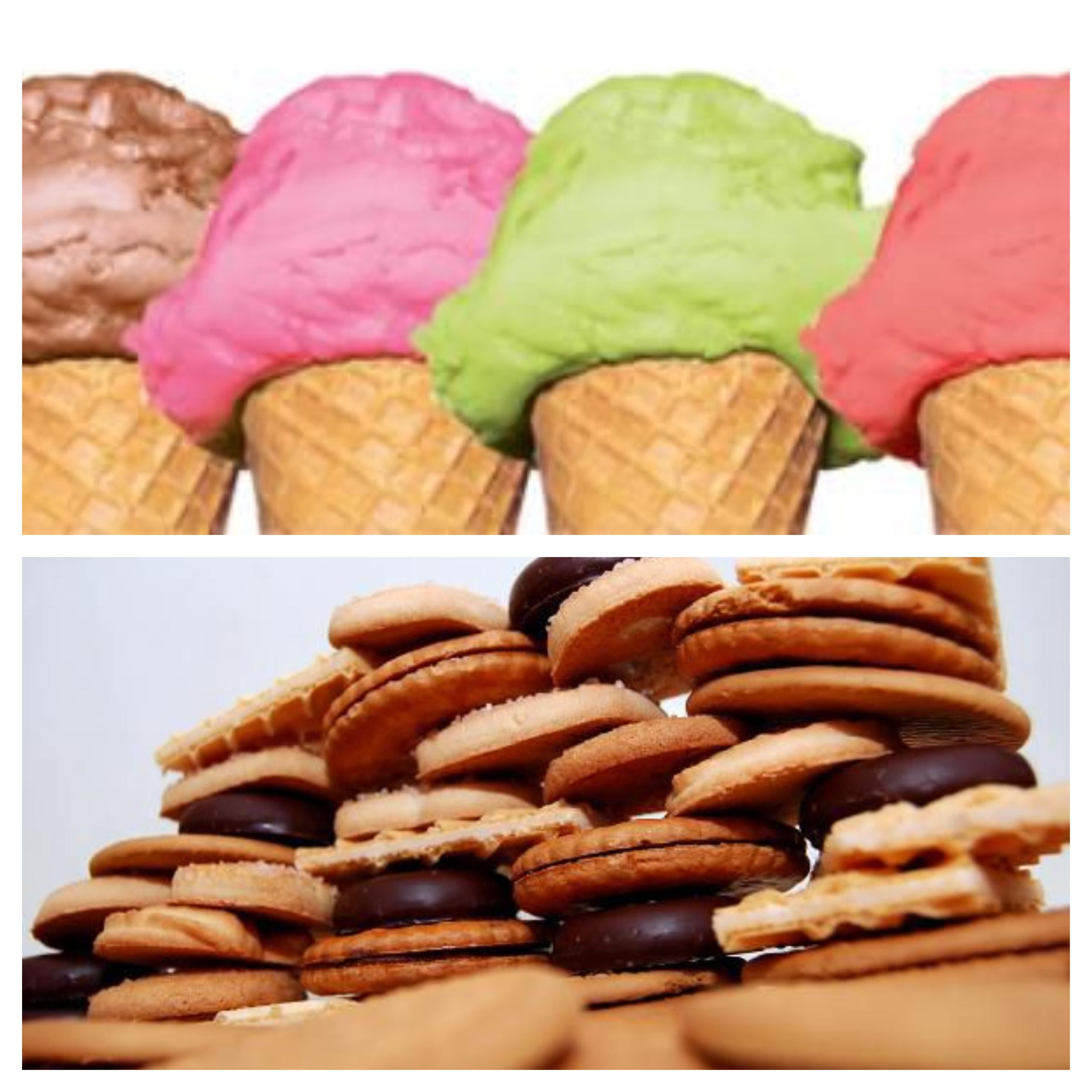 Los snacks, galletas y helados son los productos peor valorados por la OCU