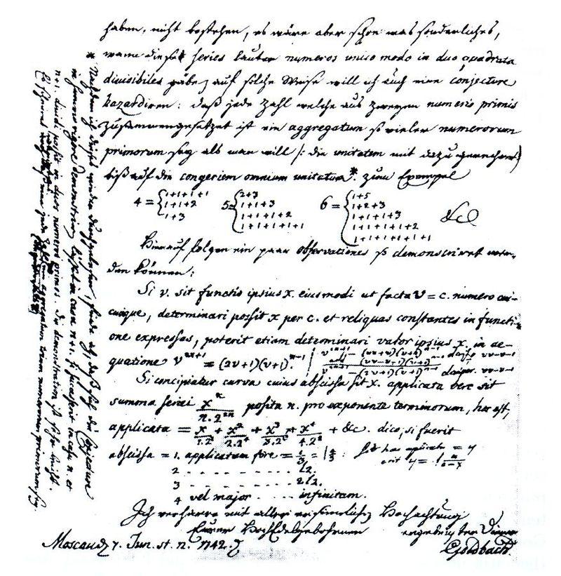 El reto matemático que cualquiera comprende pero nadie ha resuelto: La conjetura de Goldbach
