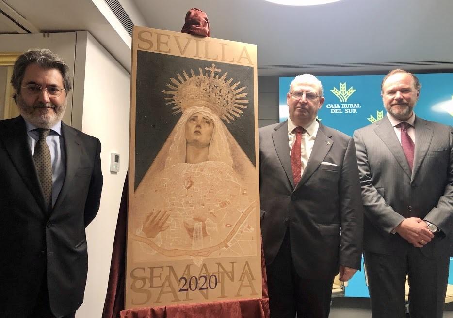 La Virgen de la Quinta Angustia centra el cartel de la Semana Santa de Sevilla 2020