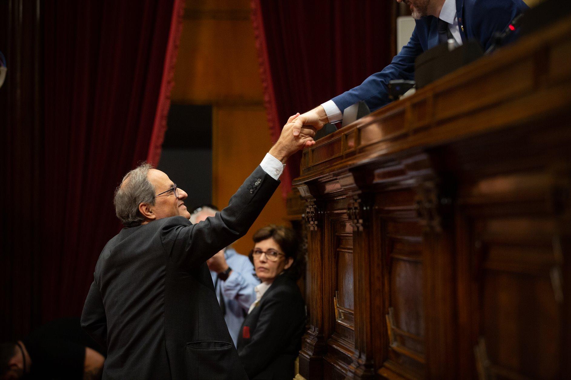 """ERC exige una mesa de negociación """"entre iguales"""" para abstenerse en la investidura de Sánchez"""