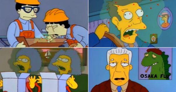 ¿Predijeron los Simpson en 1993 el brote del coronavirus?