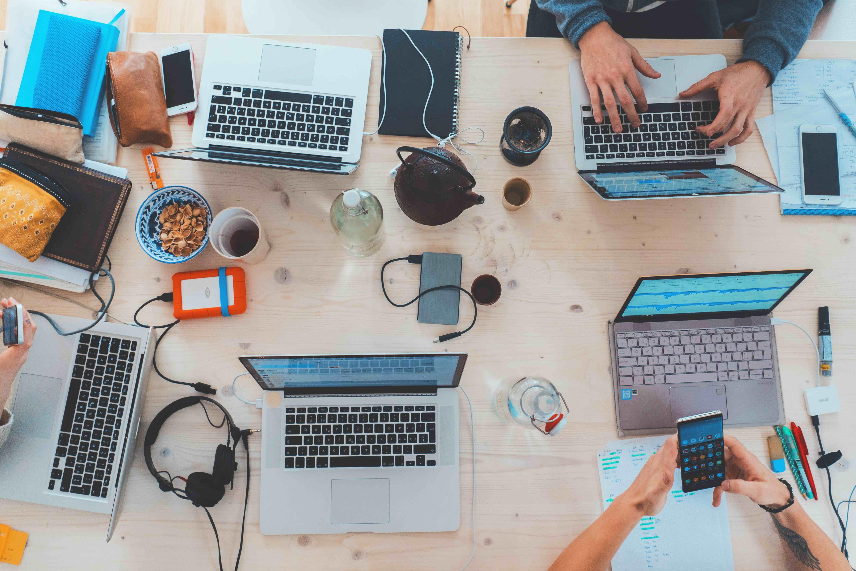 Trabajo en equipo para un crecimiento empresarial sostenible