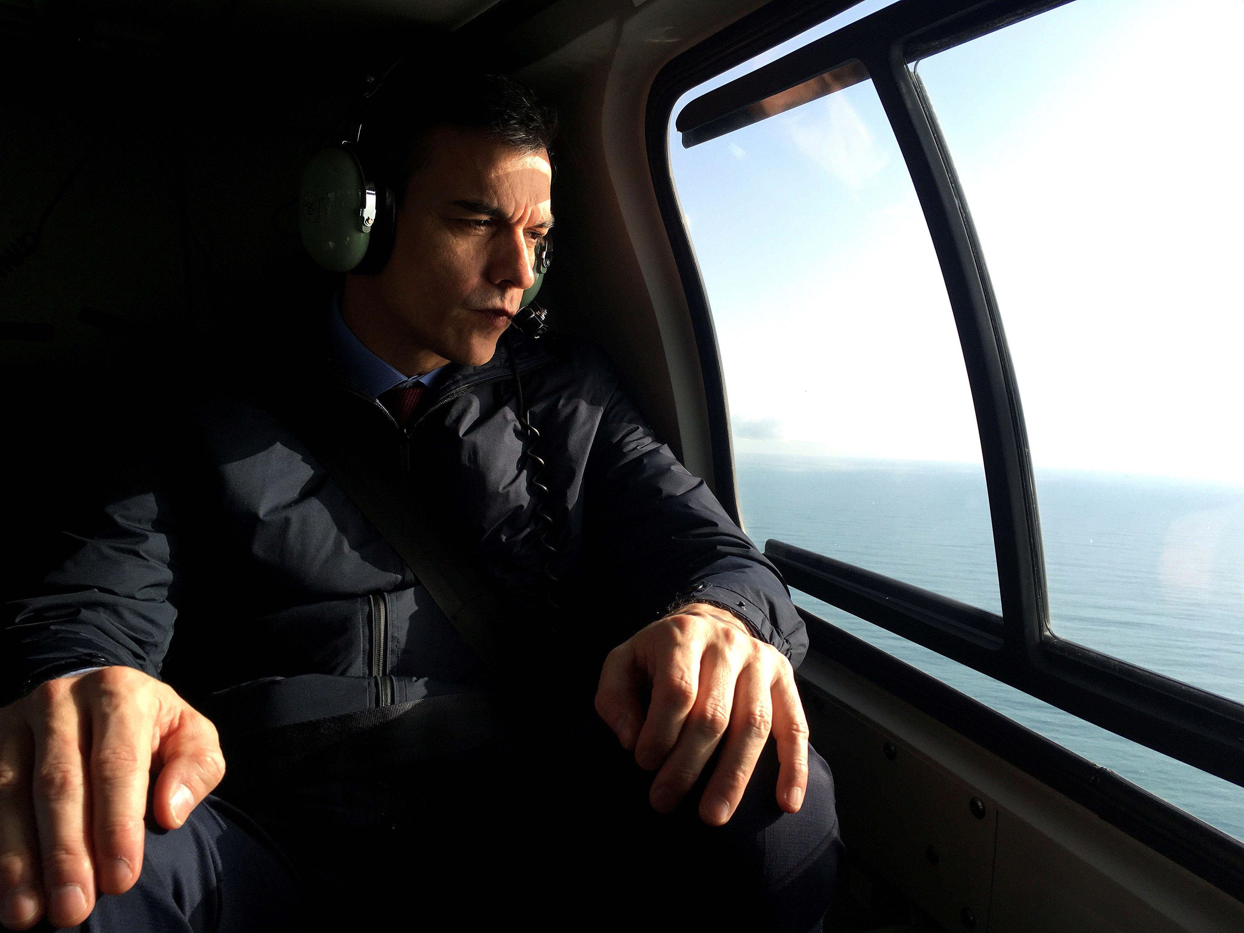 Sánchez anuncia ayudas urgentes para los damnificados por la borrasca Gloria