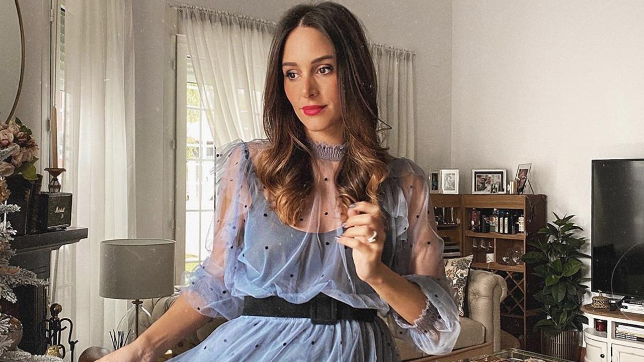 Rocío Osorno recupera una tendencia muy chic con este vestido