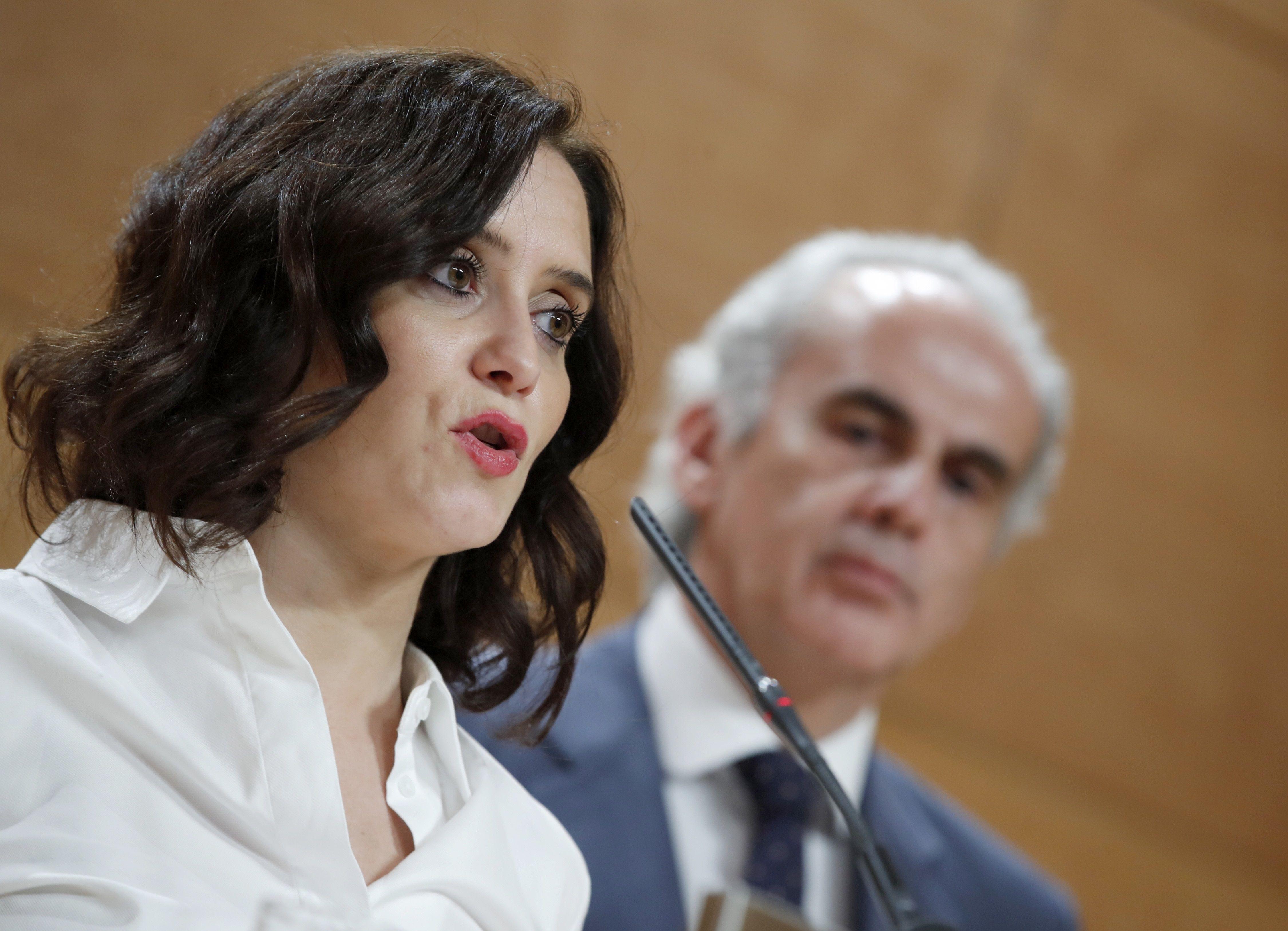 """Carta de Ayuso a Sánchez: """"Nuestra obligación como gobernantes es ..."""