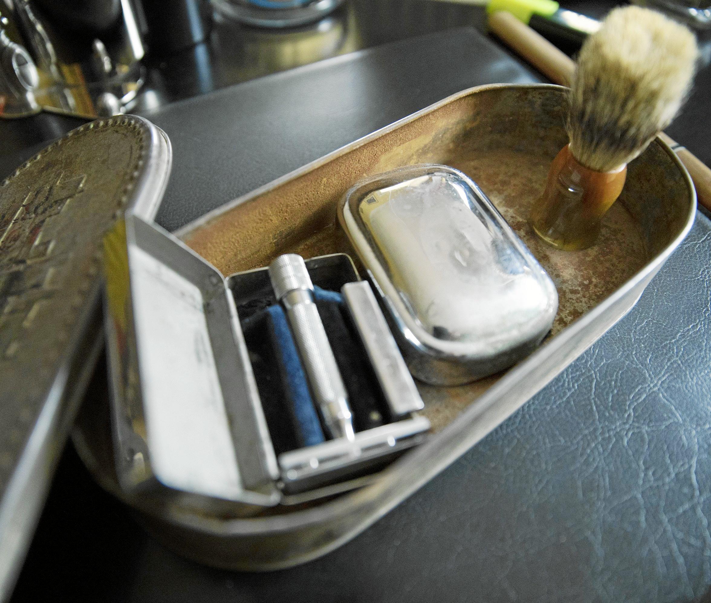 Los útiles de afeitado de Franco