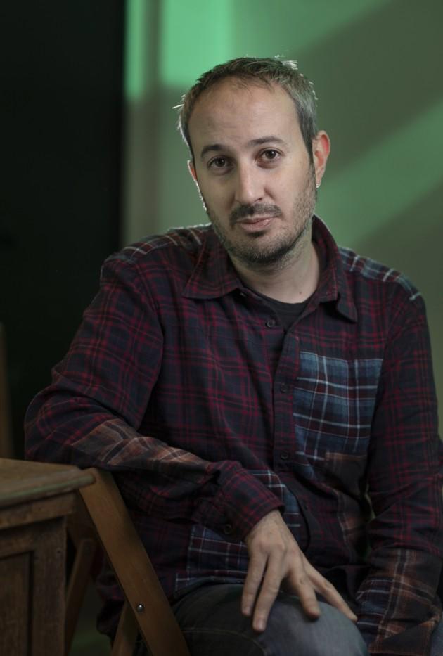 El director Javier Fernández Vázquez