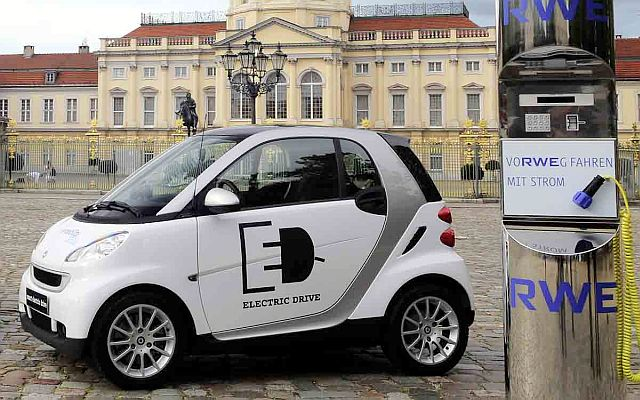 Precio auto electrico