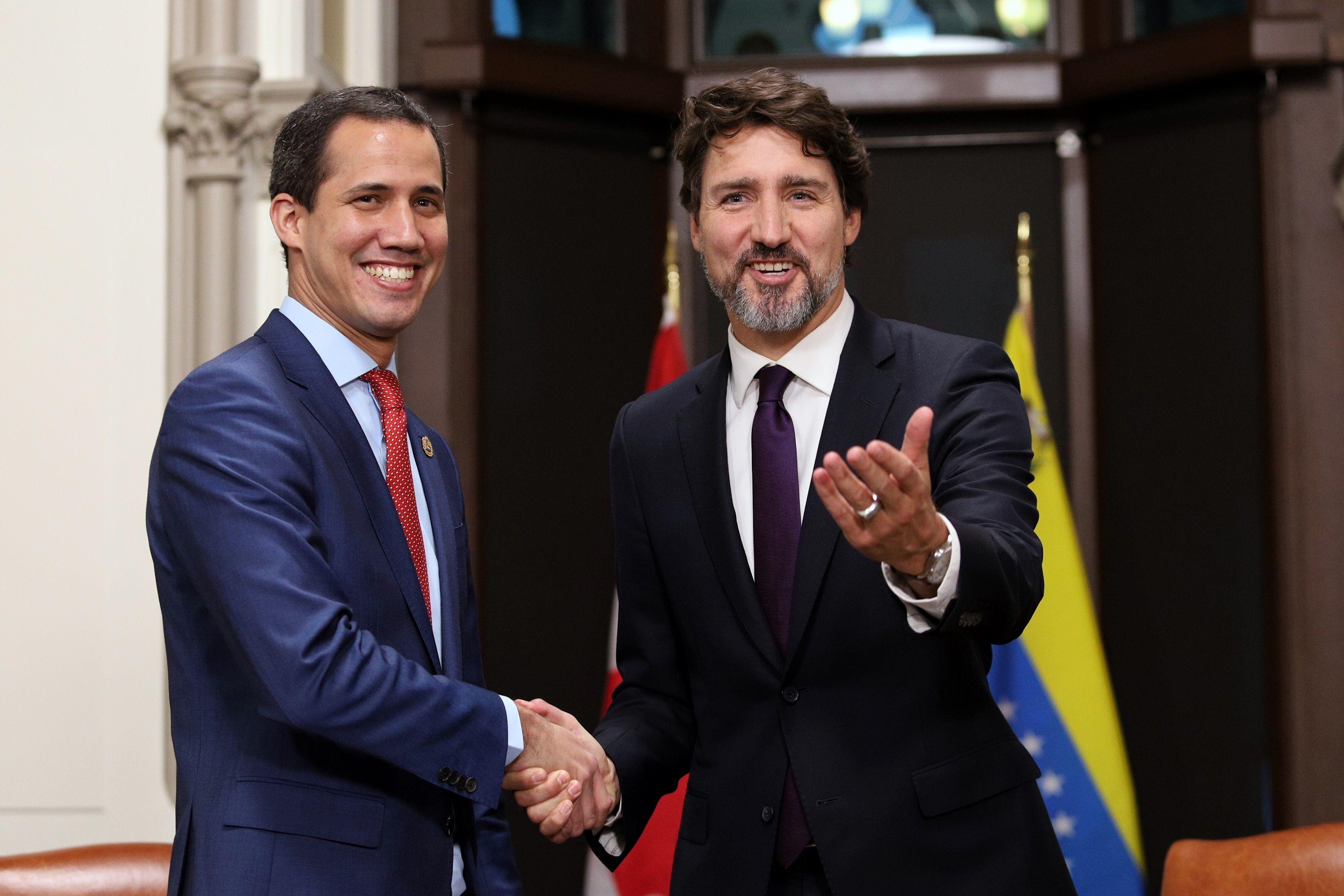 Guaidó avala contactos de Canadá con Cuba para resolver la crisis venozelana