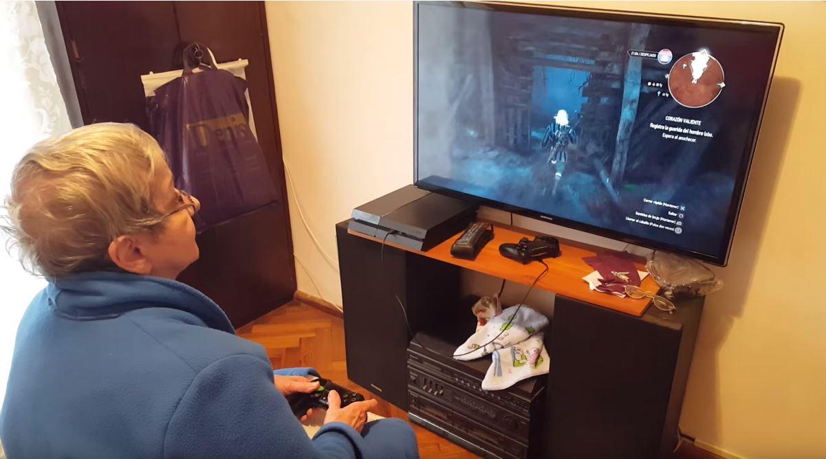 Adultos mayores gamers