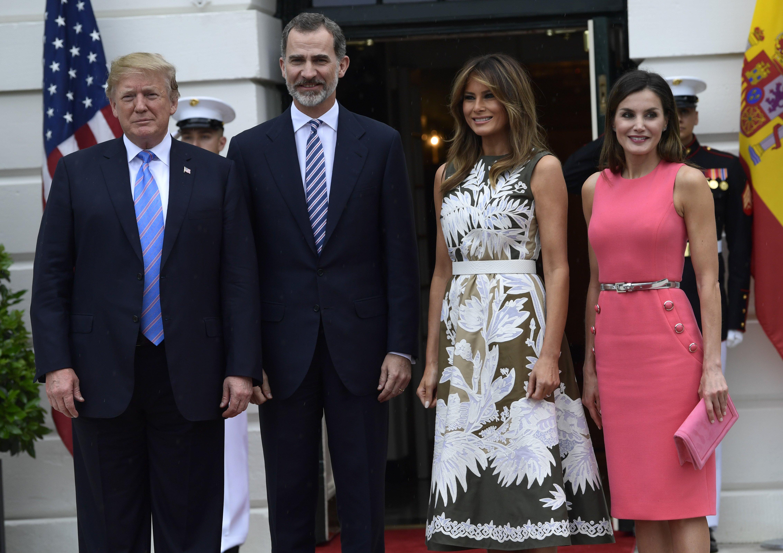 Resultado de imagen de Los Reyes Felipe y Letizia realizarán el 21 de abril una visita de Estado a Estados Unidos, según ha anunciado este martes la Casa Blanca.